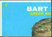 back of 1968 Topps Fred Biletnikoff football card