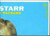 back of 1968 Topps Craig Morton football card