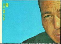 back of 1968 Topps George Saimes football card