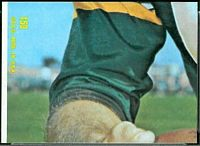 1968 Topps Bart Starr puzzle piece football card