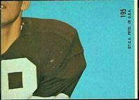 1968 Topps Len Dawson puzzle piece football card