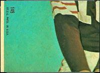 back of 1968 Topps E.J. Holub football card