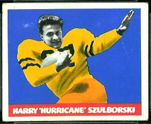 1948 Leaf Harry Szulborski football card