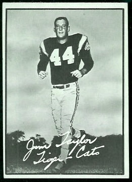 1961 Topps CFL Jim Taylor football card