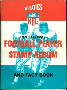 1964 Wheaties NFL Pro Bowl Football Player Stamp Album and Fact Book