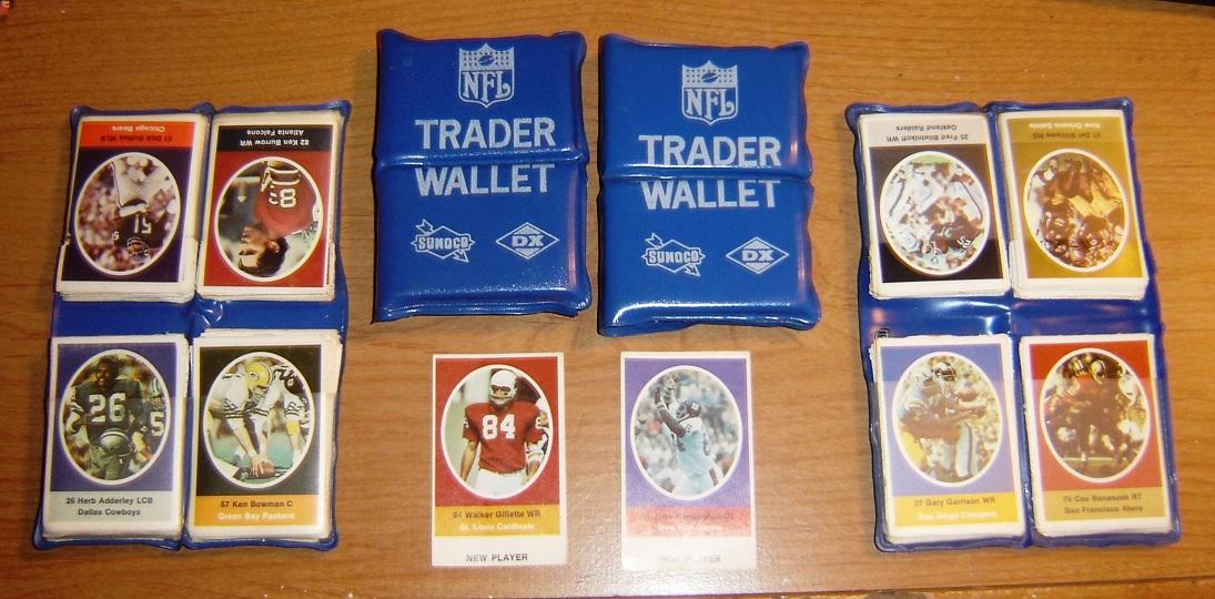 1972 Sunoco Stamp Trader Wallets