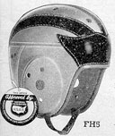 "Spalding ""winged"" helmet"