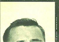 1969 Topps Fran Tarkenton puzzle piece football card
