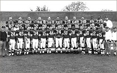 1959 Cleveland Browns team photo