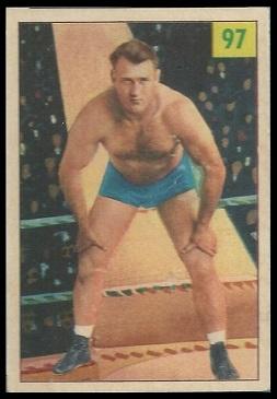Bronko Nagurski 1955-56 Parkhurst wrestling card