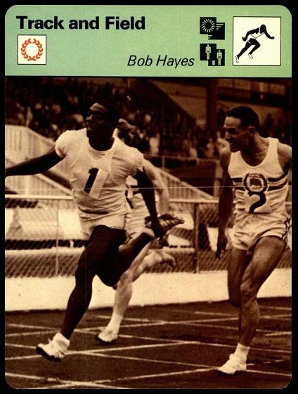 Bob Hayes 1977-79 Sportscaster card