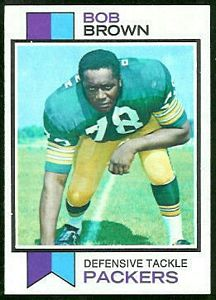 1973 Topps Bob Brown football card