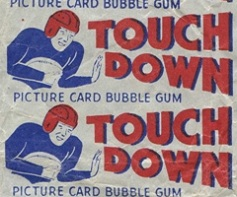 1948 Bowman football card wrapper