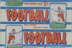 1953 Bowman football card wrapper