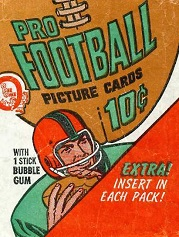 1970 O-Pee-Chee CFL football card wrapper