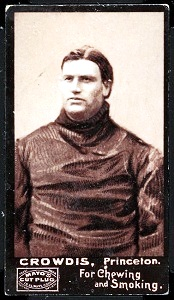 Eddie Crowdis 1894 Mayo Cut Plug football card