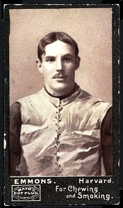 Robert Emmons 1894 Mayo Cut Plug football card