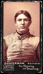 M.G. Gonterman 1894 Mayo Cut Plug football card