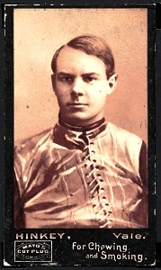 Frank Hinkey 1894 Mayo Cut Plug football card