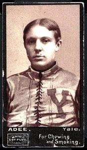 George Adee 1894 Mayo Cut Plug football card
