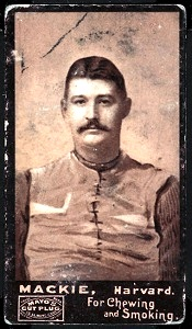 William Mackie 1894 Mayo Cut Plug football card