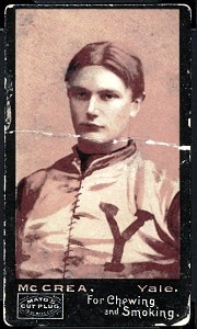 Jim McCrea 1894 Mayo Cut Plug football card