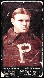 Frank Morse 1894 Mayo Cut Plug football card