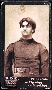 Neilson Poe 1894 Mayo Cut Plug football card