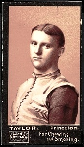 Knox Taylor 1894 Mayo Cut Plug football card