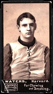 Bert Waters 1894 Mayo Cut Plug football card