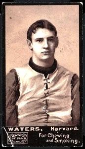 Bert Waters 1894 Mayo Cut Plug football card