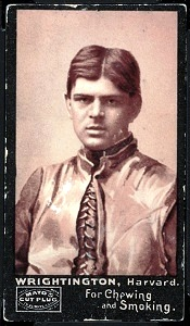 Edgar Wrightington 1894 Mayo Cut Plug football card
