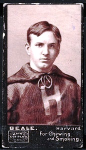 A.M. Beale 1894 Mayo Cut Plug football card
