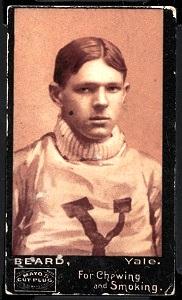 Anson Beard 1894 Mayo Cut Plug football card
