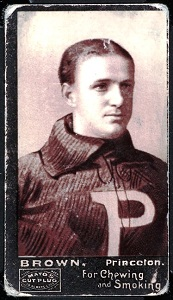 H.D. Brown 1894 Mayo Cut Plug football card