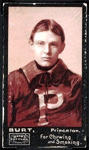 Burt 1894 Mayo Cut Plug football card