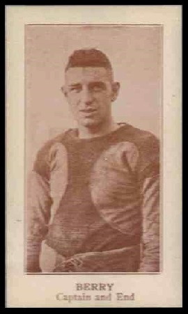 Charlie Berry 1924 Lafayette football card