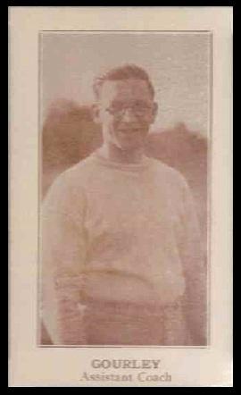 Cullen Gourley 1924 Lafayette football card