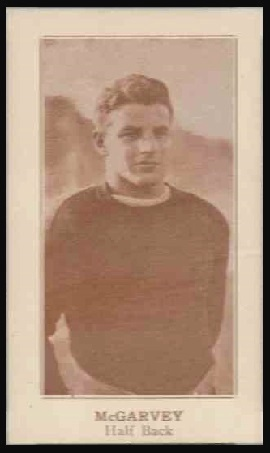 Jim McGarvey 1924 Lafayette football card