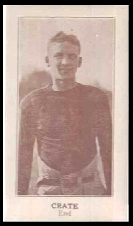 Doug Crate 1924 Lafayette football card