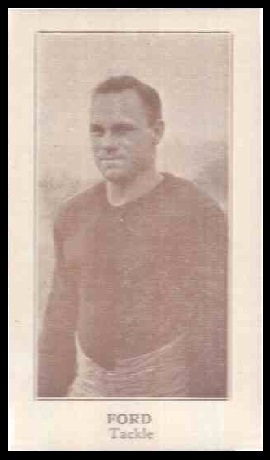 Adrian Ford 1924 Lafayette football card