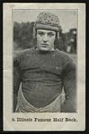 1926 Shotwell Red Grange Ad Back Illinois Famous Half Back