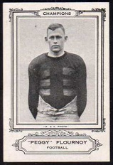 Peggy Flournoy 1926 Spalding Champions football card