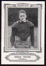 Eddie Tryon 1926 Spalding Champions football card