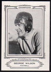George Wilson 1926 Spalding Champions football card