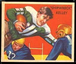 Shipwreck Kelly 1935 National Chicle football card