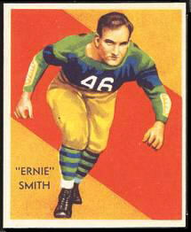 Ernie Smith 1935 National Chicle football card