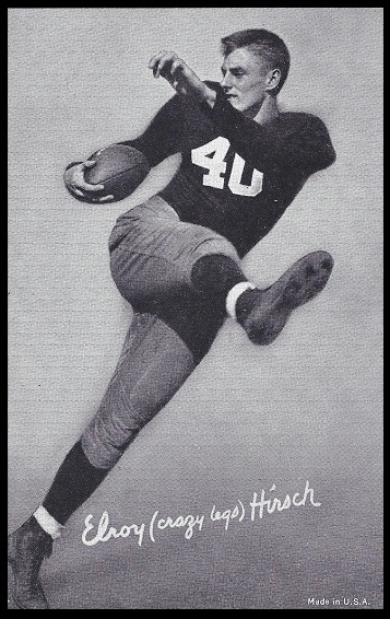 Elroy Hirsch 1948-52 Exhibit football card