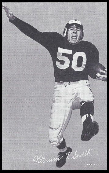 Vitamin Smith 1948-52 Exhibit football card