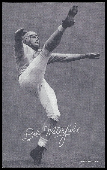 Bob Waterfield 1948-52 Exhibit football card